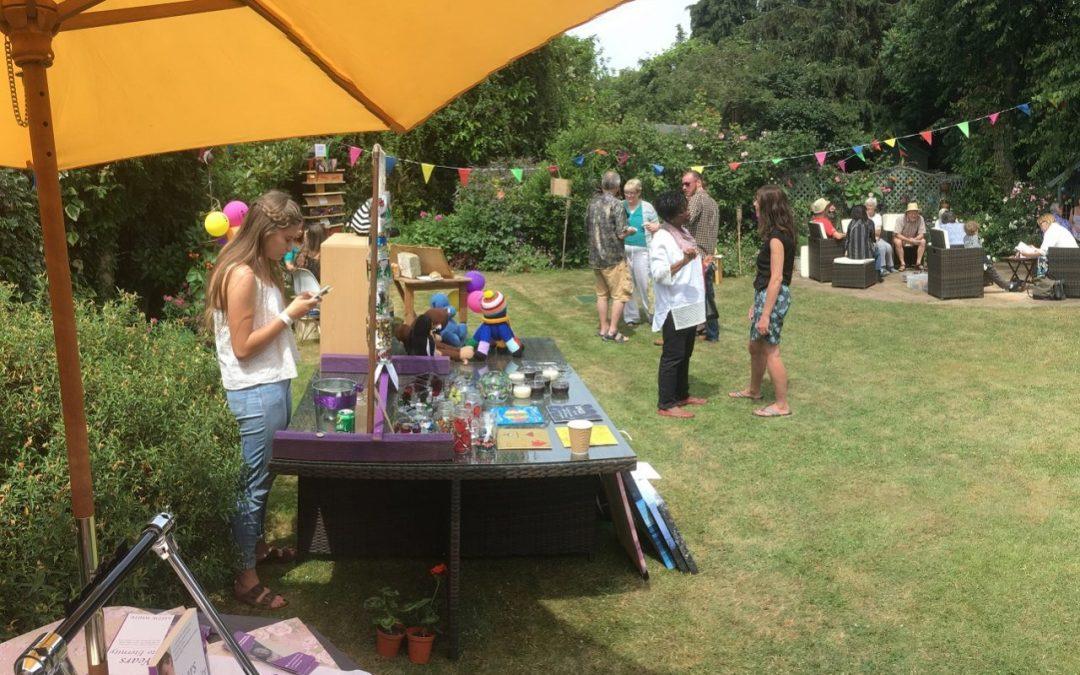 Garden party raises money for charities