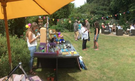 Garden party raises money for charities