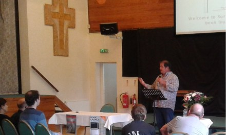Author plans to present his powerful book to a group of churches in Leeds