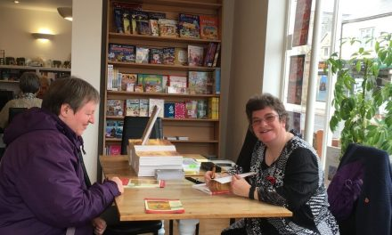 Successful book signing event for Christmas bestseller