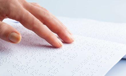 Torch turns children's novel into Braille