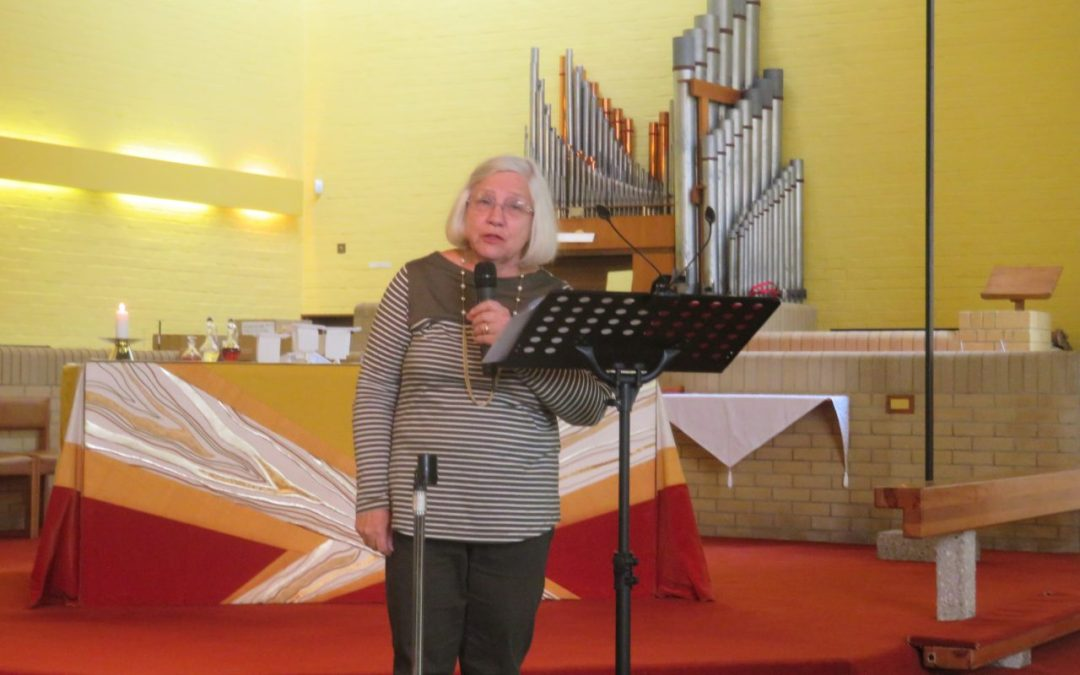'Mum Please Help Me Die' author shares powerful testimony during church service