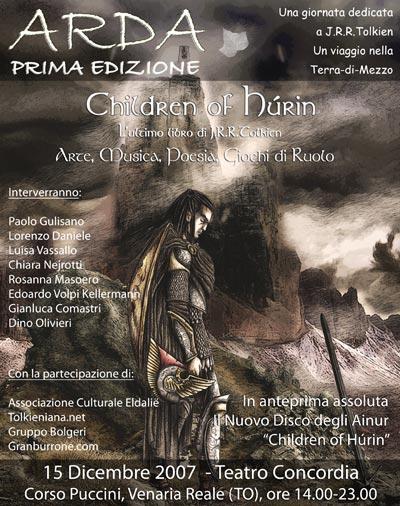 Ainur - Children of Hurin - Venaria Teatro Concordia - 15 Dicembre 2007