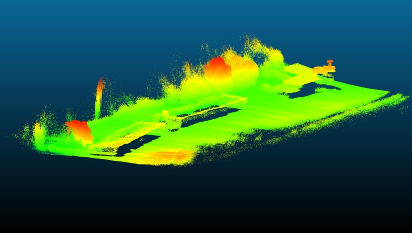 LiDAR Point Cloud LAS 3D 1 - Nuage de points