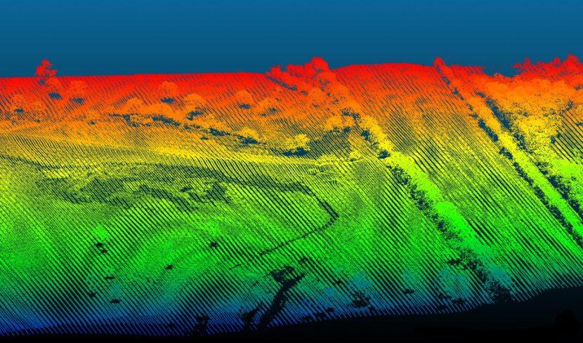 LiDAR drone OnyxScan, UAV 3D laser scanner
