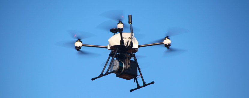 Drone XENA avec LiDAR embarqué
