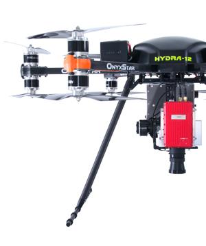 onyxstar hydra 12 drone uav uas heavy lifter gros porteur hyperspectral camera half - HYDRA-12