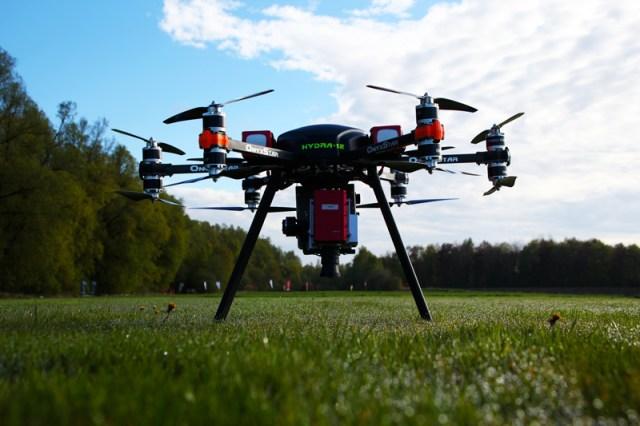 onyxstar hydra 12 drone uav uas recherche agronomique aerien - HYDRA-12