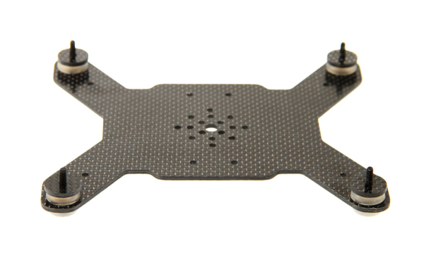 onyxstar oxg 140 carbon adapter plate frame chassis mikrokopter support nacelle gimbal - Camera mounts adapters