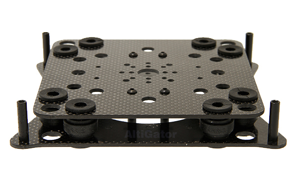 onyxstar oxg 150 carbon adapter plate frame chassis mikrokopter support nacelle gimbal - Camera mounts adapters