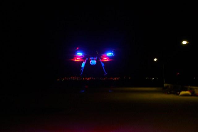 Surveillance drone - OnyxStar: UAV night patrol