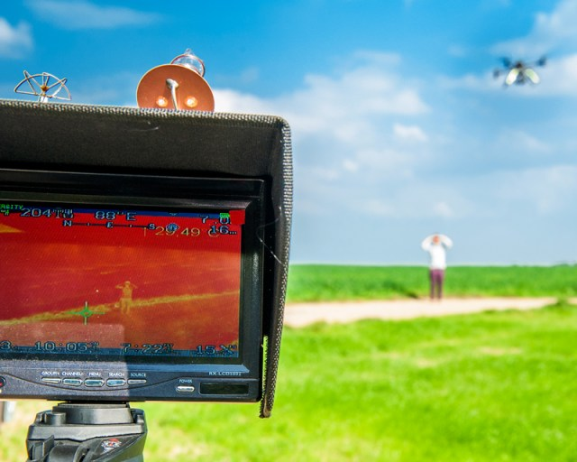 Thermography drones