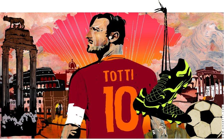 Speciale de La Repubblica - Totti Re di Roma