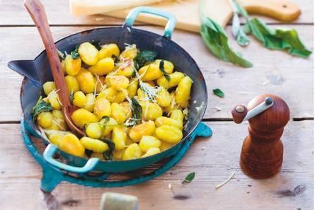 Gnocchi met boter, salie en kaas