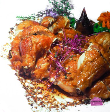 Roasted Chicken with Spicy Sichuan Sauce