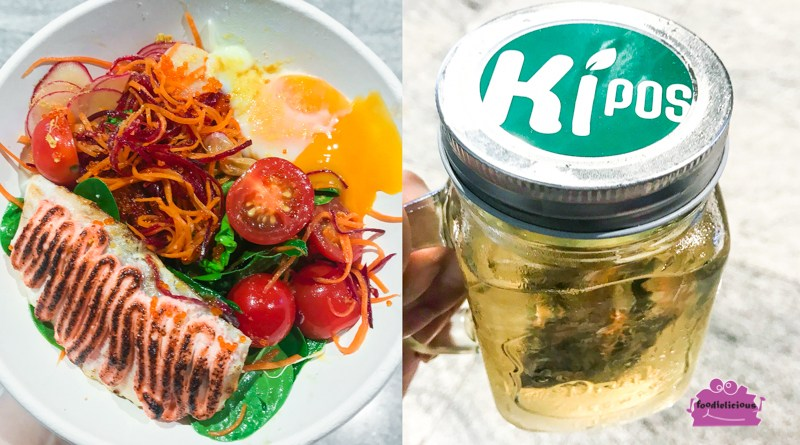 Kipos Gourmet, Tanjong Pagar Centre – Protein Bowl with Mentaiko Salmon & Truffle Soyu