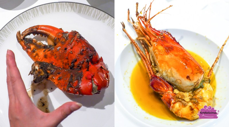 Asia's 50 Best Restaurant Ministry of Crab serves Giant Pepper Crab & Freshwater Prawns at Shangri-La Hotel, Singapore