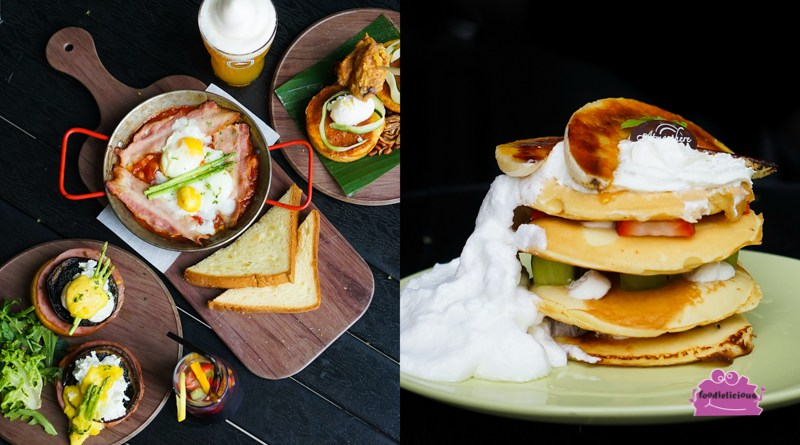 Atmosphere Bistro's New Weekend Seaside Brunch with Nasi Lemak Egg Ben & Pancake Stack at Parkland Green