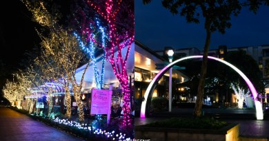Quayside Isle @ Sentosa Cove – Christmas Light Installations, LED Inflatables & Dining Promos