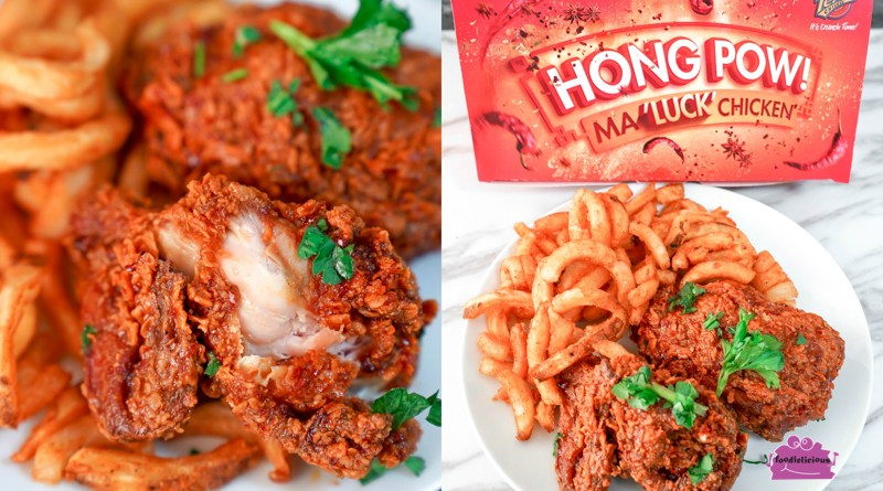 Texas Chicken CNY Crispy Mala Fried Chicken with Curly Fries