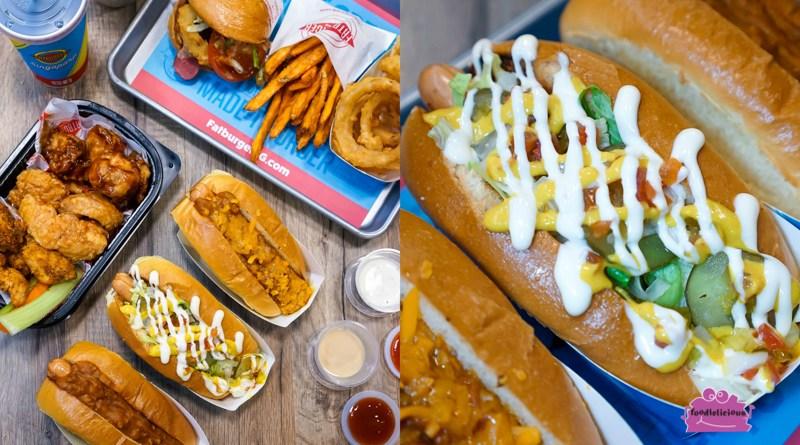 Fatburger's new customisable Chicken Cheese Hotdog Buns at KINEX