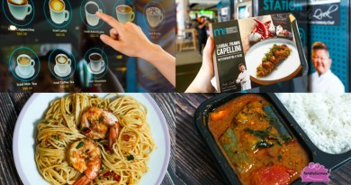 Celebrity Chef Justin Quek's MAC Ready Meals X KALMS Vending Pop Up Event in Downtown East