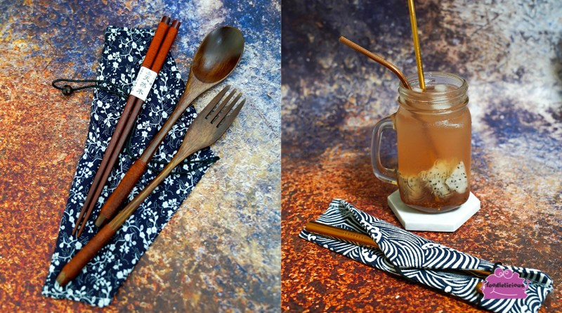 Koshin Products – Reusable Rose Gold Stainless Steel Straws in Japan-inspired designed pouches