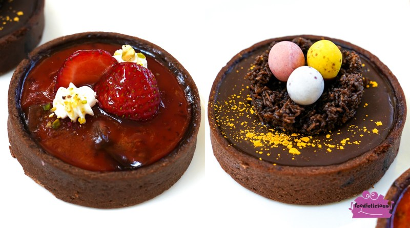 Spinelli Coffee – Easter Chocolate Tart & First-ever Ruby Chocolate Strawberry Tart in Singapore