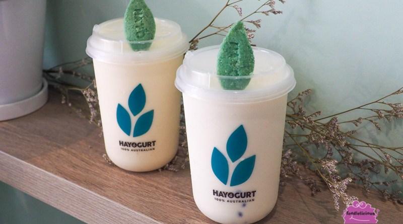HAYO Yogurt Bar (Bugis) – 100% Australian Artisanal Yogurt Beverages – the Healthier Alternative to our beloved Bubble Tea