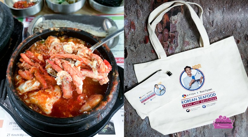 SBCD Korean Tofu House – New Spicy Red Crab Soontofu with Free K·FISH x Yoon Si Yoon Tote Bag