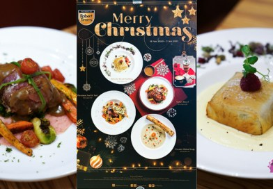 The House of Robert Timms Christmas Menu with Turkey Parcel & Choco Mint Frappe (Suntec City)