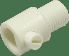 Borstnipper PVC M10 Hol Wit