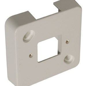 P25 Montageplaat voor enkel opbouw stopcontact1 Stuks