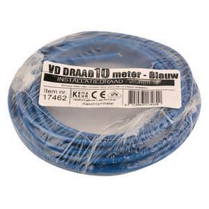 VD-DRAAD 2,5 MM� BLAUW  -  10 METE RBLAUW