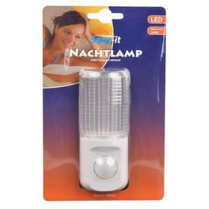 LED NACHTLAMP METPIR BEWEGINGSSENSOR WARM WITSENS-IT