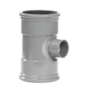 PIPE PVC T-ST 90 3XMF 110X50