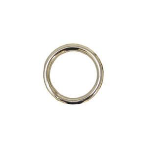 Gelaste ring 40x6mm geg.