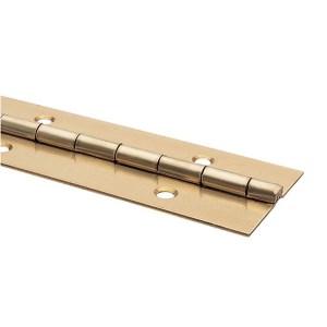 Pianoscharnier+schroef 32mmx175cm verm.
