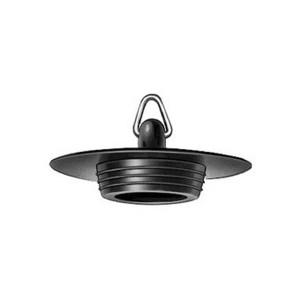 Plugstop 6/4 X45.5mm Zwart Plieger
