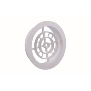 Ventilatierooster Wit Diameter 120mm