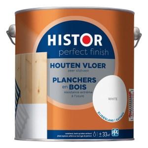 2,5 L Pf Houten Vloer Zg White His