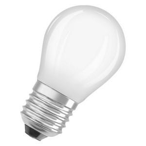 Osram LED retrofit kleine bol E27 4,5W warm wit vervangt 40W