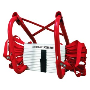 Smartwares brandladder BBVL 4.5 m rood/wit