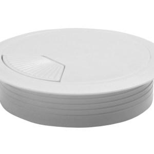 Kabeldoorvoer wit 60 mm