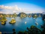 view halong bay vietnam