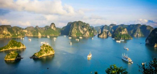 view halong bay vietnam