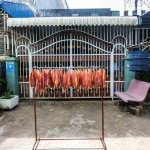 drying fish Kampong Cham photo Ooaworld