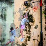 basketball street art georgetown malaysia
