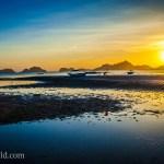 El Nido Sunset Palawan Philippines 11