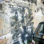 incense street art georgetown malaysia